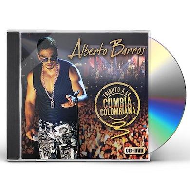 Alberto Barros TRIBUTO A LA CUMBIA COLOMBIANA VOL. 3 CD