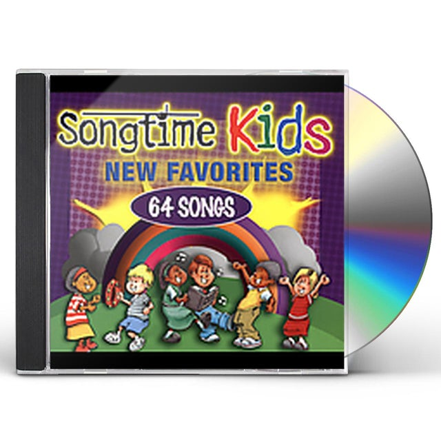 Songtime Kids NEW FAVORITES CD