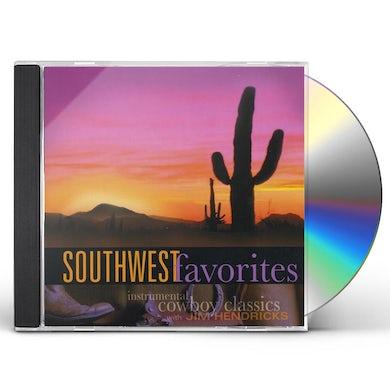 Jim Hendricks SOUTHWEST FAVORITES CD