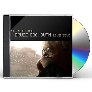 Bruce Cockburn SLICE O LIFE LIVE SOLO CD