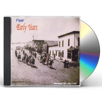 Flyer EARLY YEARS CD
