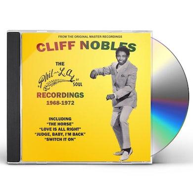 Cliff Nobles PHIL-LA OF SOUL MUSIC COLLECTION 1968-1972 CD