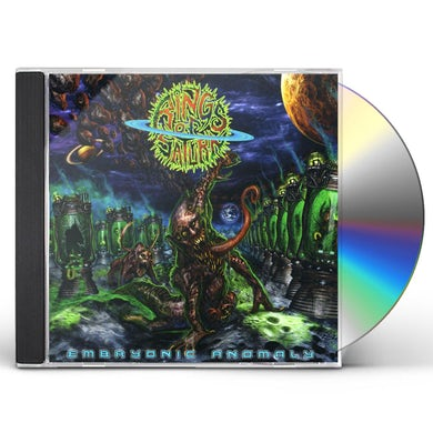 Rings Of Saturn EMBRYONIS ANOMALY CD