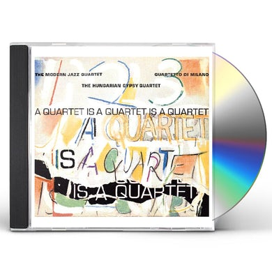 The Modern Jazz Quartet QUARTET IS A QUARTET IS A QUARTET CD