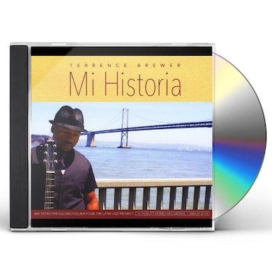 Terrence Brewer MI HISTORIA CD