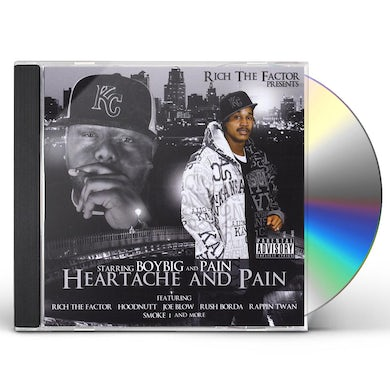 HEARTACHE AND PAIN CD