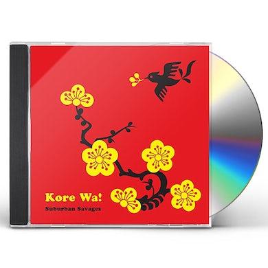 Suburban Savages KORE WA CD
