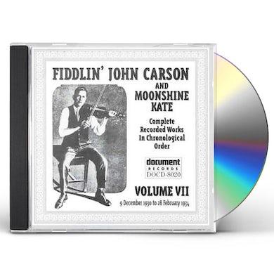 Fiddlin John Carson COMPLETE 7 CD