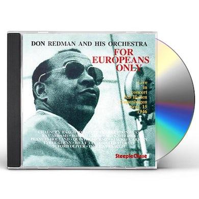 Don Redman FOR EUROPEANS ONLY CD
