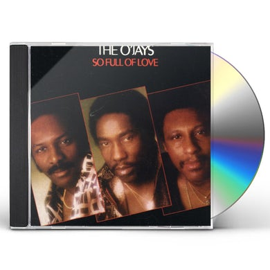 The O'Jays SO FULL OF LOVE CD