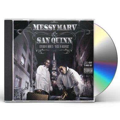 Messy Marv & San Quinn EXPLOSIVE MODE 2: BACK IN BUSINESS CD