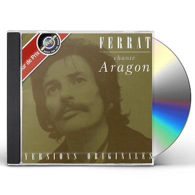 Jean Ferrat FERRAT CHANTE ARAGON CD