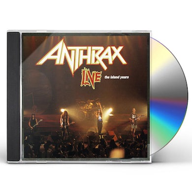 Anthrax LIVE: ISLAND YEARS CD