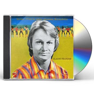 Claude François C'EST LA MEME CHANSON CD
