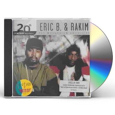 Eric B & Rakim 20TH CENTURY MASTERS: MILLENNIUM COLLECTION CD