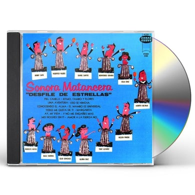 Sonora Matancera DESFILE DE ESTRELLAS CD