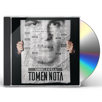 Adriel Favela TOMEN NOTA CD