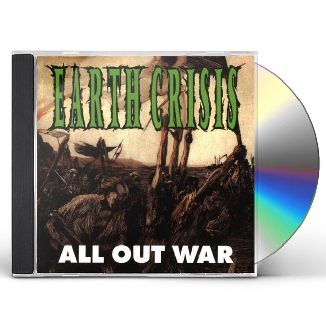 Earth Crisis ALL OUT WAR CD