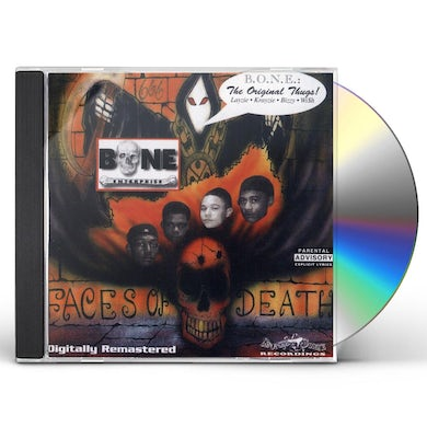 Bone Enterprise FACES OF DEATH CD