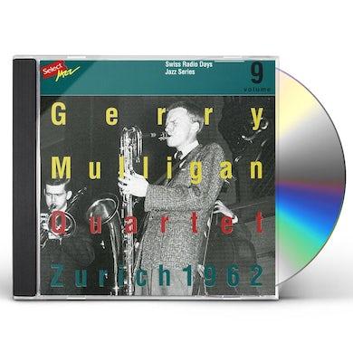 Gerry Mulligan ZURICH 1962 CD