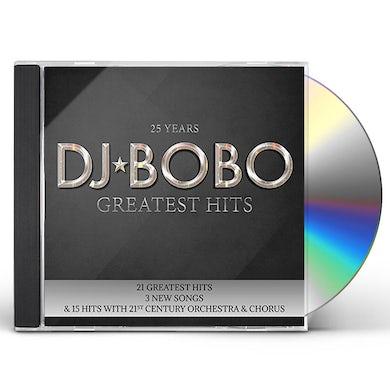 DJ Bobo 25 YEARS: GREATEST HITS CD