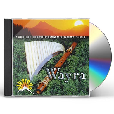 Wayra COLLECTION OF CONTEMPORARY & NATIVE AMERICAN 2 CD