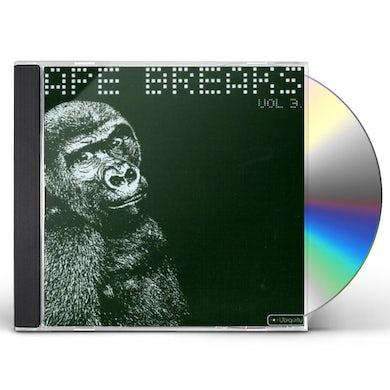 Ape Breaks VOLUME 3 CD