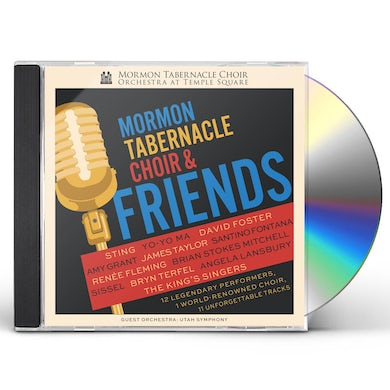 MORMON TABERNACLE CHOIR & FRIENDS CD