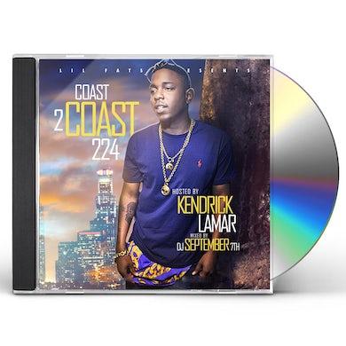 Kendrick Lamar COAST 2 COAST CD