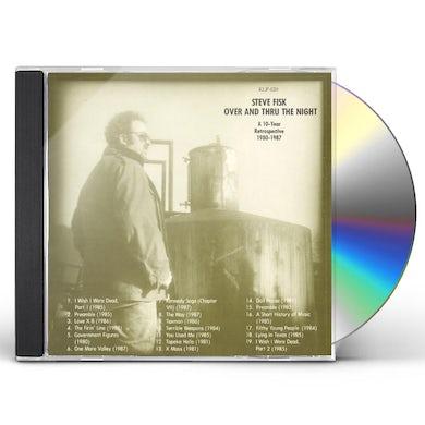 Steve Fisk OVER & THRU THE NIGHT CD