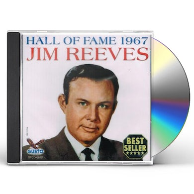 Jim Reeves HALL OF FAME 1967 CD