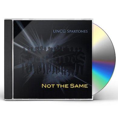 UNCG Spartones NOT THE SAME CD