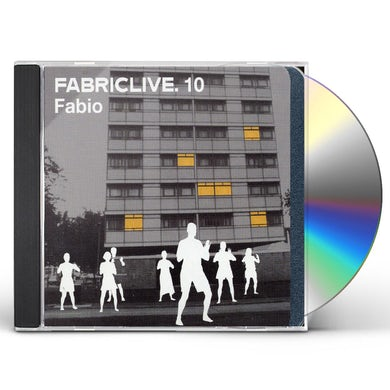 Fabio LIVE 10 CD