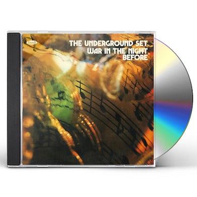 UNDERGROUND SET WAR IN THE NIGHT BEFORE CD
