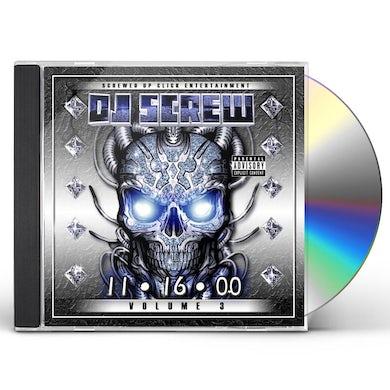 DJ Screw 11-16-00 3 CD