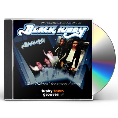 Black Ivory HANGIN' HEAVY CD