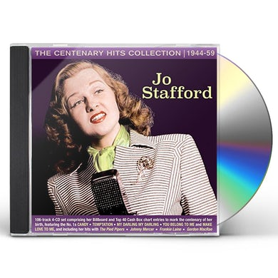 Jo Stafford CENTENARY HITS COLLECTION 1944-59 CD