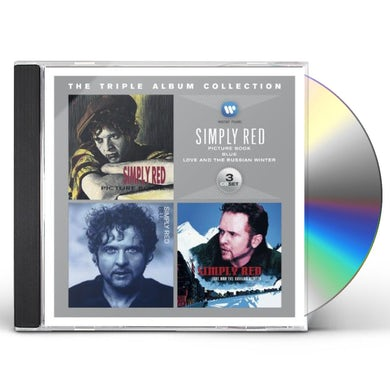 Simply Red TRIPLE ALBUM COLLECTION CD
