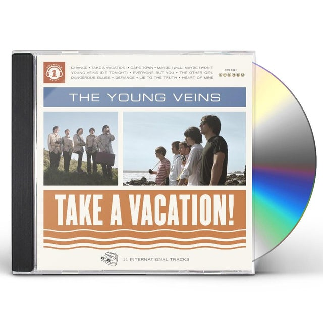 Young Veins TAKE A VACATION CD