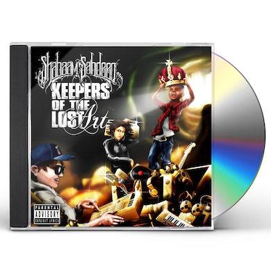 Shabaam Sahdeeq KEEPERS OF THE LOST ART CD