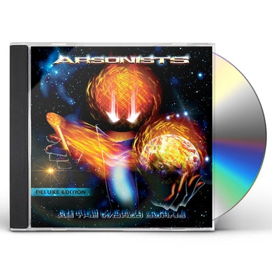 Arsonists AS THE WORLD BURNS / LOST IN THE FIRE CD