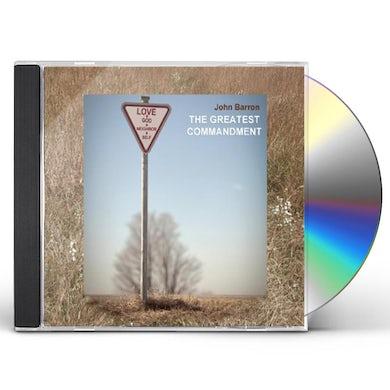 John Barron GREATEST COMMANDMENT CD