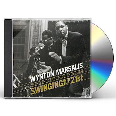 Wynton Marsalis SWINGIN INTO THE 21ST: 50TH BIRTHDAY CELEBRATION CD