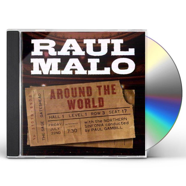 Raul Malo AROUND THE WORLD LIVE CD