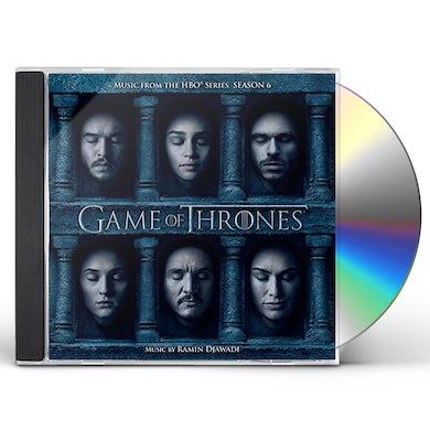 RAMIN DJAWADI GAME OF THRONES: SEASON 6 / Original Soundtrack CD