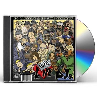 Roscoe Umali I LOVE MY DJS CD