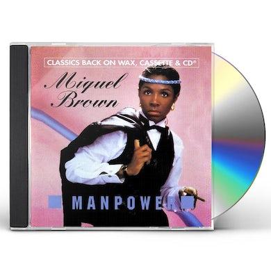 Miquel Brown MANPOWER CD