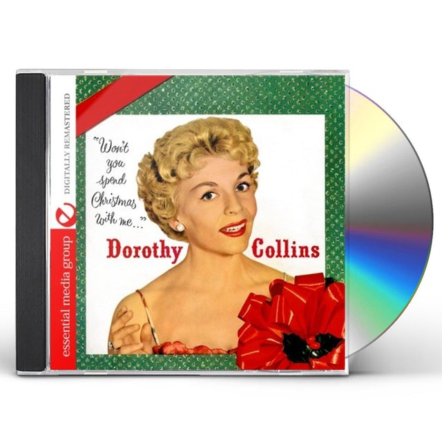 Dorothy Collins WON'T YOU SPEND CHRISTMAS WITH ME CD