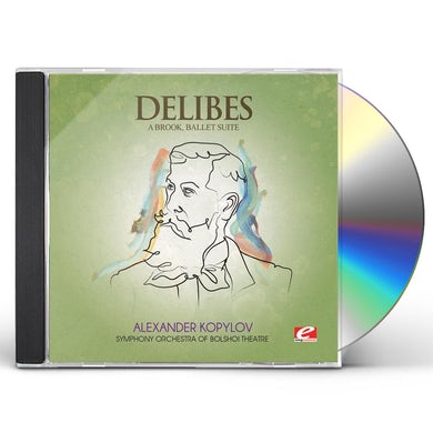 Delibes A BROOK CD