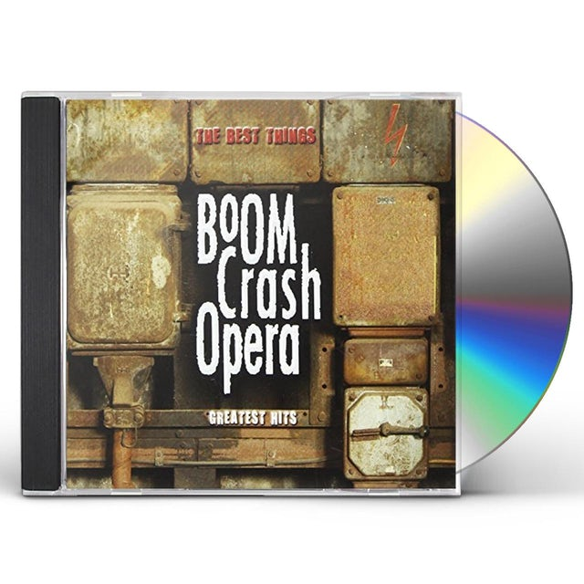 Boom Crash Opera BEST THINGS CD